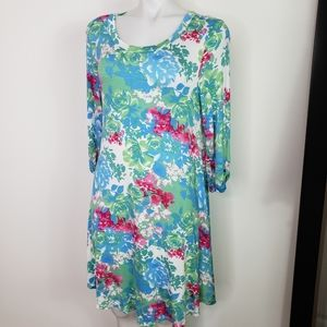 12pm by Mon Ami floral jersey dress
